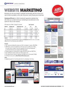 Carreteras Digital Media Pack 2016