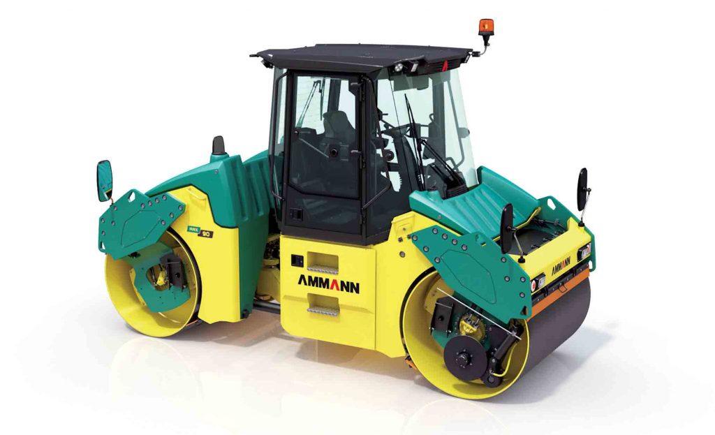Ammann articulated tandem roller_ARX 90