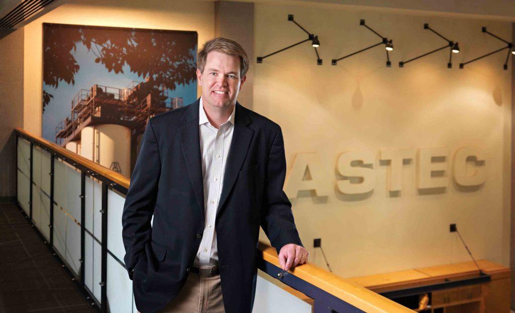 Ben Brock CEO de Astec Industries