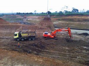 Cada excavadora produjo 42.431 metros cubicos por ano