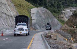 Carretera en Colombia