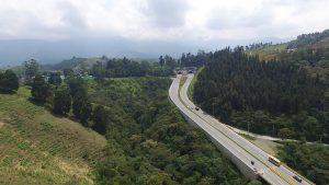 Vía en Colombia