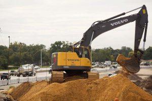 Excavadora de Volvo ER350C