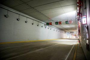 túnel en avenida Néstor Gambetta, Perú
