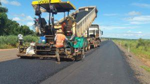Obras en tramo Curuguaty-Ypejhu, Paraguay