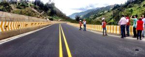 vía Cucuta-Pamplona en Colombia