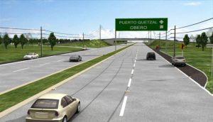 autopista Escuintla-Puerto Quetzal