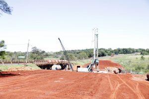 Obras puente en Paraguay