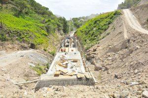 Obras carreteras Honduras