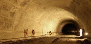 túnel de La Línea, en Colombia